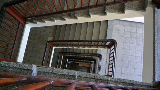 Stairway, Berlin, 2012, © Kathleen MacQueen.